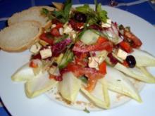Mediterraner Sommersalat - Rezept