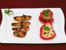 Peperoni ripieni mit Rosmarinkartoffeln (Daniel Küblböck) - Rezept