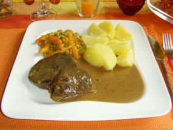 Sauerbraten mit Backpflaumensoße... - Rezept