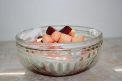 Pflaumen-Apfel-Salat - Rezept