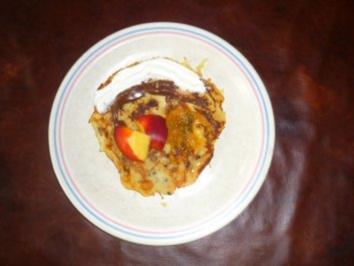 Pfannkuchen mit Haferflocken - Rezept