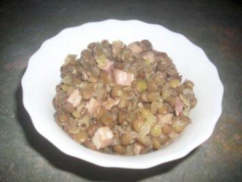 Teufelchens Linsensalat - Rezept