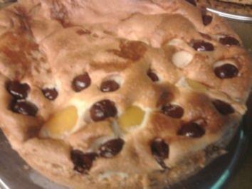Biskuitkuchen mit Zucker-Ei-Belag - Rezept