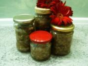 Zuccini-Gurken-Relish - Rezept