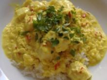 Asiatische Fischpfanne mit Basmati-Reis - Rezept