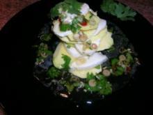 Mozzarellatürmchen mit Mango - leicht exotisch - sehr lecker - Rezept