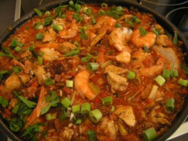 Jambalaya mit Hähnchen - Rezept