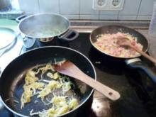 Rindersteak mit Speckbohnen und Salzkartoffeln - Rezept