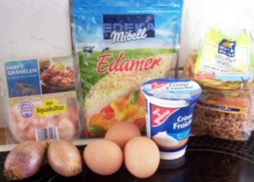 Kochen: Nudel-Garnelen-Pfanne - Rezept
