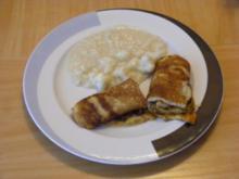 boto's herzhafte Pfannenkuchen mit Hackfleischsoße - Rezept