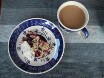 Blechkuchen mit Steusel - Rezept