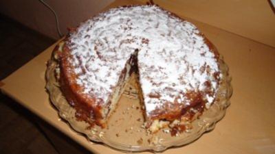 Marmorierter Mascarpone-Kuchen - Rezept