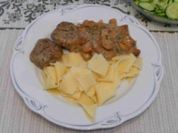 Pilze - Frische Pfifferlinge an Tagiatelle - Rezept
