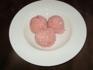 Erdbeer - Baiser - Eis - Rezept