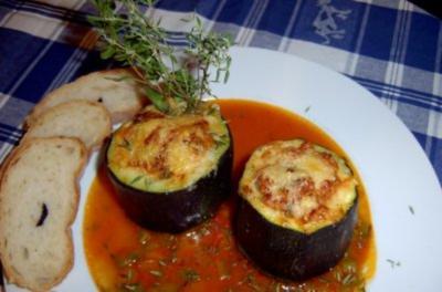 Zucchini-Törtchen - Rezept