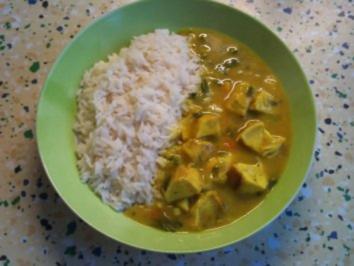 boto's Curryhuhn - Rezept