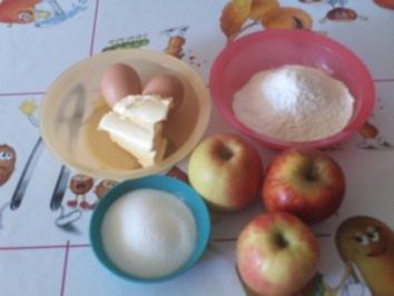 Rezept: Mini - Apfelkuchen