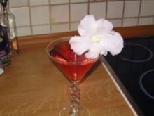 Erdbeer - Rosenwasser - Cocktail - Rezept