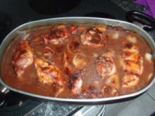 Kaninchen aus dem Ofen mit Teigwaren und Blumenkohl - Rezept