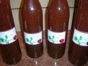 Erdbeer-Chili-Likör - ein total leckeres Verdauungsschnäpschen - - Rezept