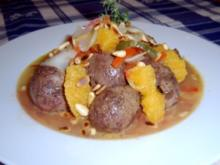 Lammnierchen auf einem Salat- Gemüsebett - Rezept