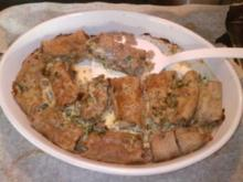 Herzhaft gefüllte Buchweizenpfannkuchen - Rezept