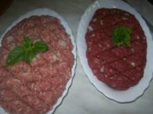 Abendbrot -  Tatar u. Schweinehack  ♥ ♥ ♥ - Rezept