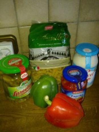 Nudelsalat mit Paprika - Rezept - Bild Nr. 2