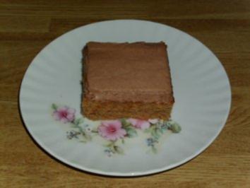 Eisschokolade-Schnitten - Rezept
