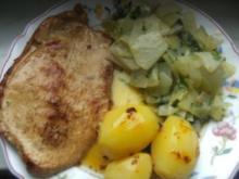 Kohlrabi-Rahm-Gemüse  zart und lecker - Rezept