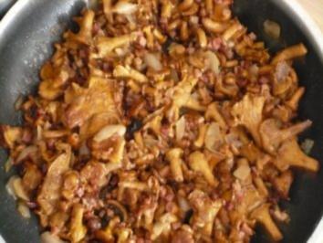 Pfifferlinge mit Schweinefilet - Rezept