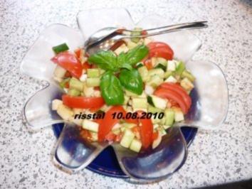 Bunt gemischter Salat - Rezept