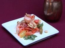Thailändischer Green Papaya Salad mit Garnelen - Rezept