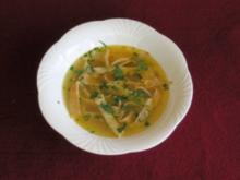 Frittatensuppe - Rezept