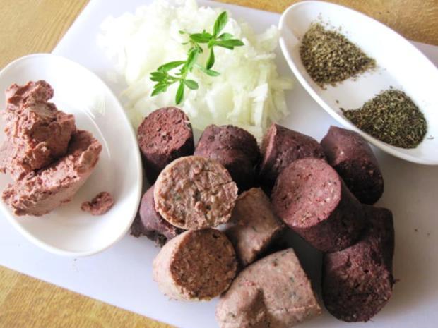 Finsel mit Sauerkraut und Pellkartoffeln - Hausmannskost pur - Rezept - Bild Nr. 6720