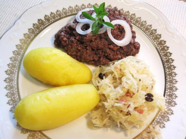 Finsel mit Sauerkraut und Pellkartoffeln - Hausmannskost pur - Rezept - Bild Nr. 6724