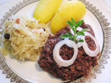 Rezept: Finsel mit Sauerkraut und Pellkartoffeln - Hausmannskost pur