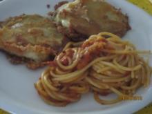 Vegetarische Schnitzel mit Spaghetti - Rezept