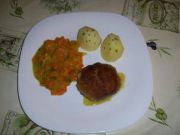 Karottengemüse mit Safran - Rezept