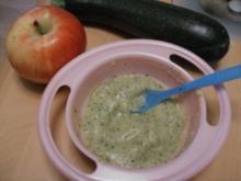 Apfel-Zucchini Brei - Rezept