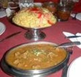 Rindfleisch-Curry mit Ananas - Rezept