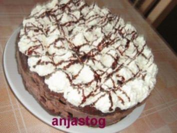 Schokoladen Trio Torte - Rezept