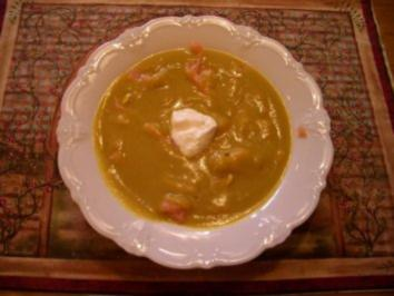 Rezept: Kürbissuppe mit Räucherlachs
