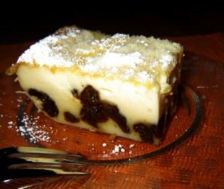 Far Breton - bretonischer Backpflaumenkuchen - Rezept