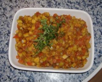 "Rezept: Pisto "" spanischer Gemüsesalat """