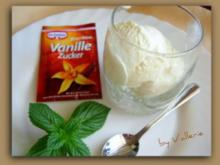 Paradiescreme Vanilleeis - Rezept