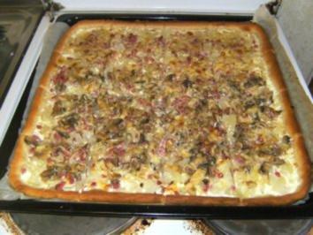 """BLECHKUCHEN - """"Intermezzo""""-Pizza - Rezept"""