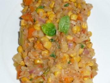 Basilikum - Gemüsepfanne - Rezept
