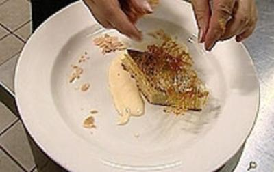 Mallorquinischer Mandelkuchen mit Bourboneis - Rezept - Bild Nr. 9