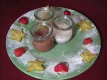 Dessert-Trilogie im Glas - Rezept
